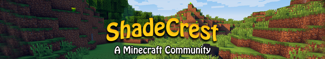 Shade Crest: A Minecraft Community